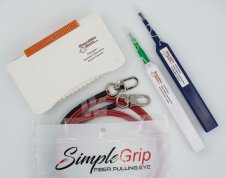 Project Pack - Spotless II, Smart-Click LC & SC Cleaning Pens, 2x Fiber Pull Eyes
