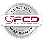 Lifetime Warranty on Fiber Optic Cables